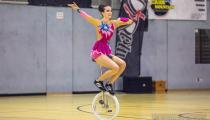 DM2019 Einrad-Freestyle - AK Einzelkür U15 - Annemarie Korom - Thema Let's Dance - 10. Platz