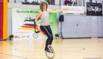 DM2019 Einrad-Freestyle - AK Einzelkür 19+ - Inga Kern - Thema Tina Turner - 6. Platz