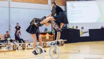 DM2019 Einrad-Freestyle - Damen-Expert - Meike Rath & Sonja Rath - Thema Gladiator - 5. Platz