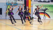 DM2019 Einrad-Freestyle - Kleingruppe 15+ - Thema Freak - Deutscher Meister 2019