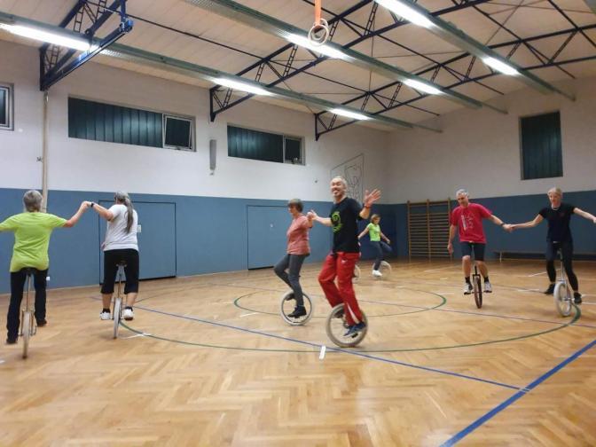 TSV Dudenhofen - Einrad - Oldies