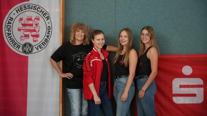 Von links - Elke Dubberstein, Kristina Ratzka, Meike und Sonja Rath