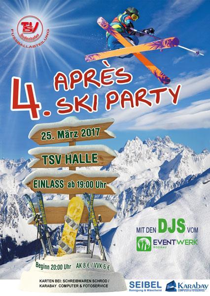 4. Après Ski Party der Fußballer