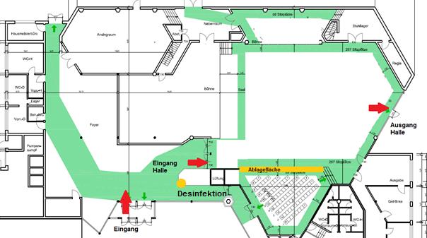 Hygieneplan Bürgerhaus 2021