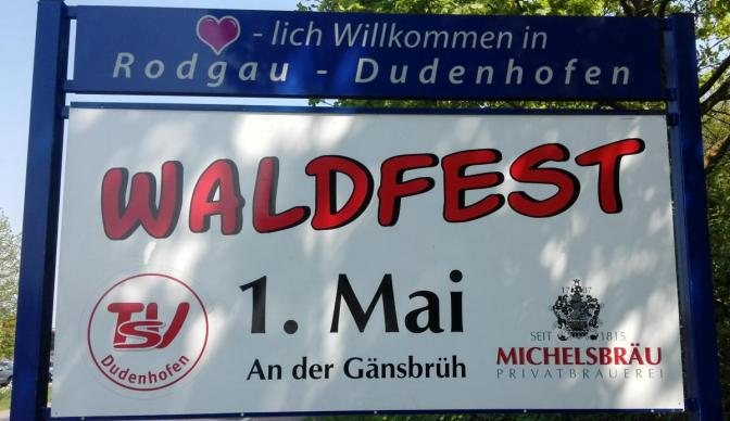 TSV Dudenhofen 1. Mai Waldfest